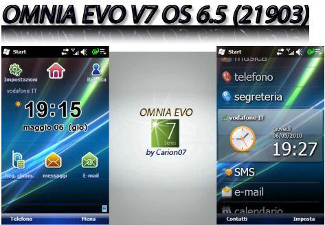 windows mobile 6.5  samsung omnia i900 firmware