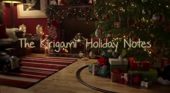 Ancora un video natalizio da Samsung: protagonisti il Galaxy Note 2 e l'arte del kirigami